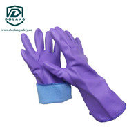 High-quality, strong rubber gloves that can be used in the kitchen or in the garden as well Household Latex Gloves Work Glove