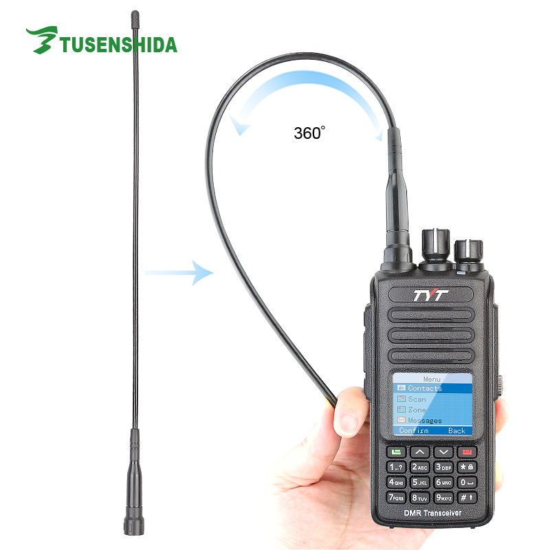 IP67 Waterproof dmr radio TYT MD-390 two way radio with GPS digital ham transceiver