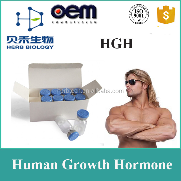 Human growth hgh hormone/ Hgh 191aa powder /pharm grade hgh for Child growth