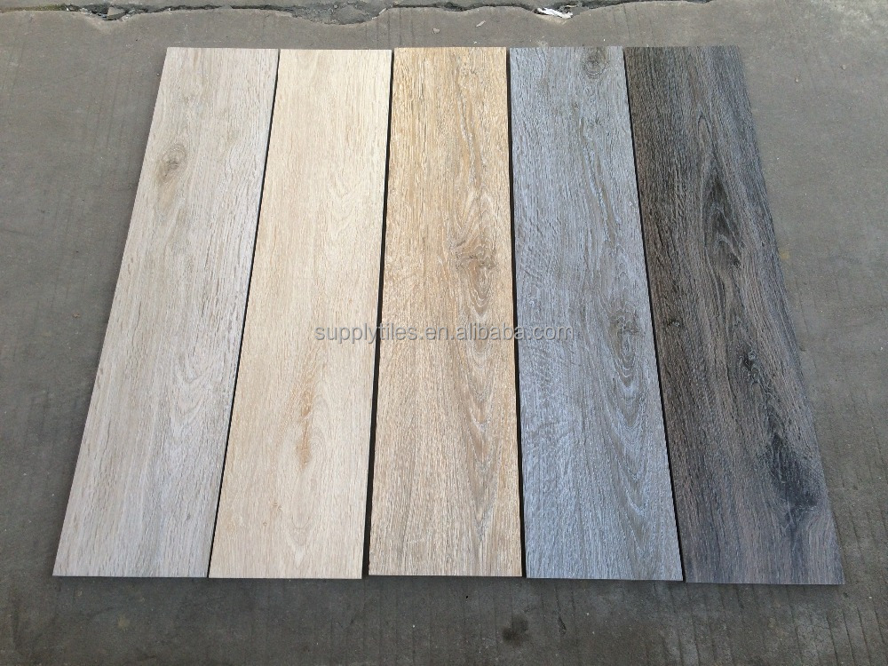 China Supplier Anti-slip Wood Look Rustic Porcelain Tiles for Floor