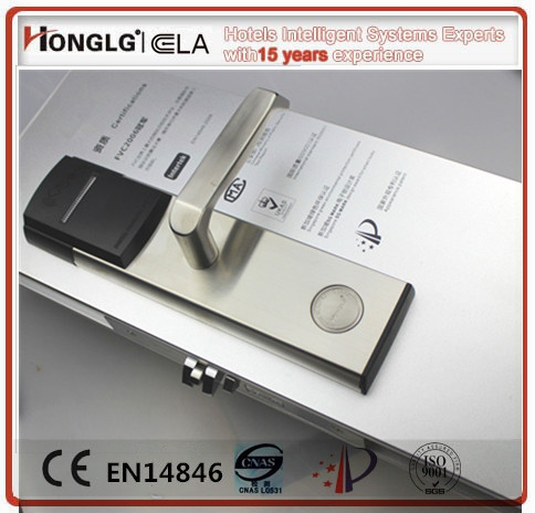 Android ISO System Compliant Honglg Hotel Door Lock Bluetooth