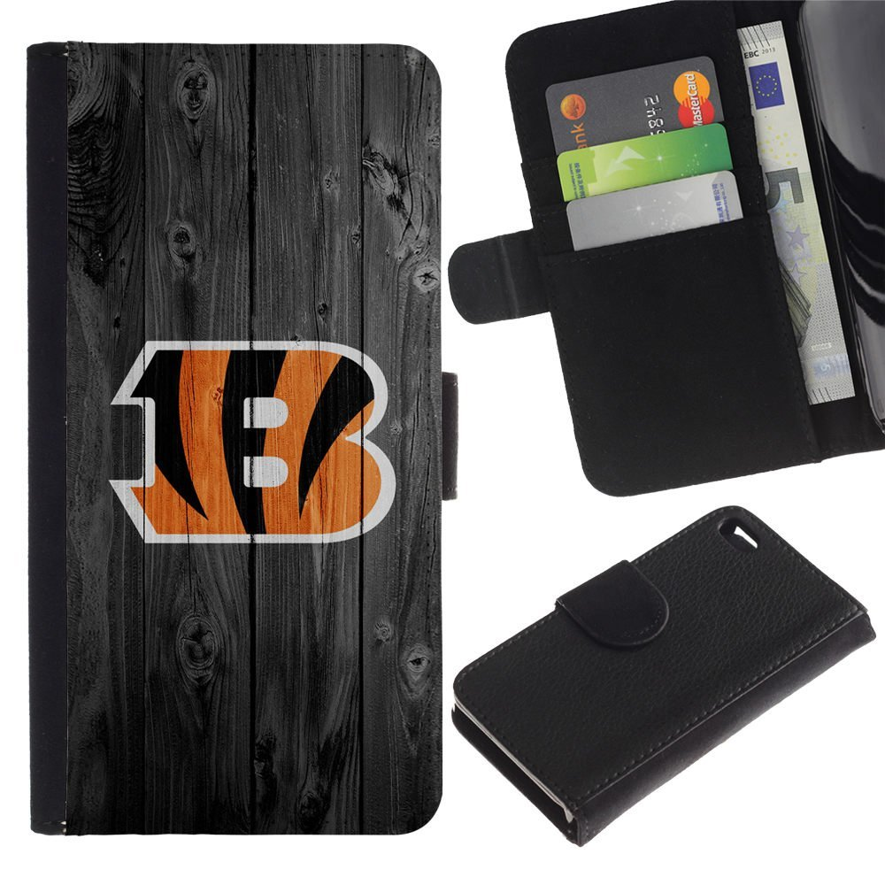 Smartphone Protective Case Hard Shell Cover for Cellphone Apple Iphone 4 / 4S / CECELL Phone case / / Cincinnati Bengal Football /