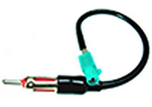 Stereo ANTENNA Harness VW Jetta 03 04 05 2004 2005 AFTERMARKET STEREO / RADIO ANTENNA ADAPTOR - PLUGS INTO AFTERMARKET STEREOS AND CONNECTS INTO FACTORY ANTENNA