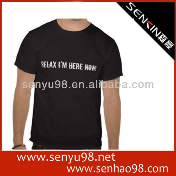 hot sale promotion products blank t-shirts wholesale clothing