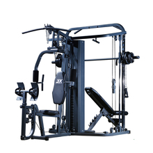 <span class=keywords><strong>JUNXIA</strong></span> luxe muti functionele home gym met power rack, multifunctionele multifunctionele home gym