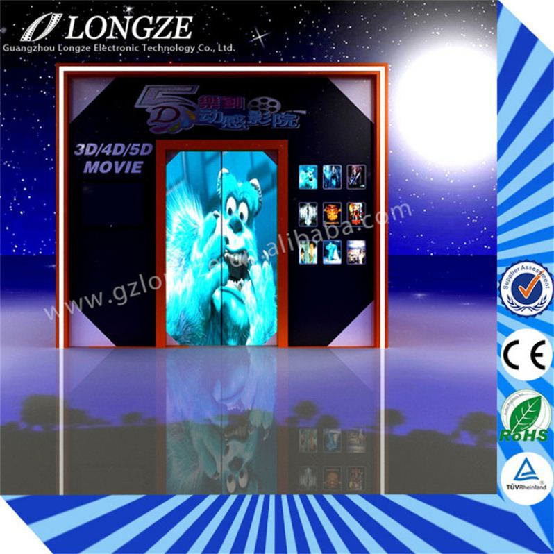 Guangzhou 6dof Entertainment Unit motion Exhibition mp4 player 5d mobile cinema