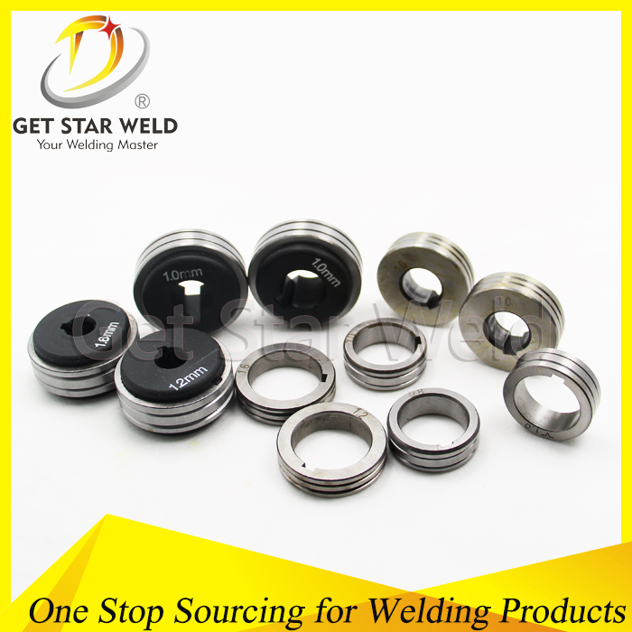 Steel Wire 40mm * 22mm Mig Mag Welding Wire Feed Roller - Buy ...