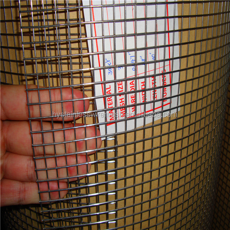 manufacturer burr-free Strong wear-resisting stainless steel 6x6 reinforcing welded wire mesh fence