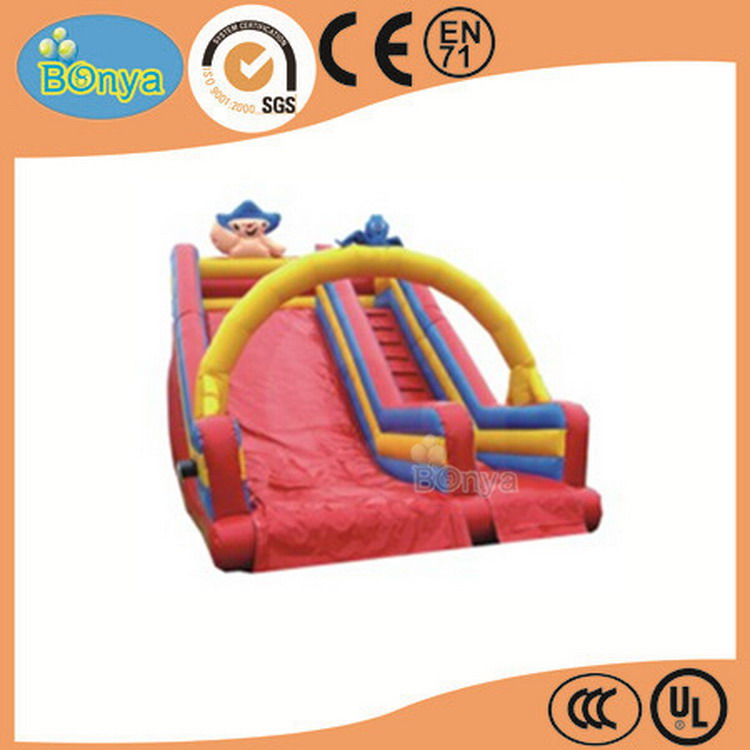 Low price best choice kids elephant inflatable slide