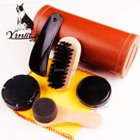 Yangzhou Yingte shoe shine kit/shoe polish set/ travel shoe shine polish kit set