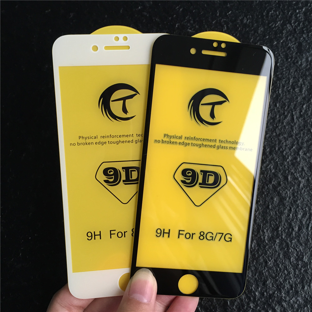 Easy Install 9D Tempered Glass Screen Protector For iPhone X