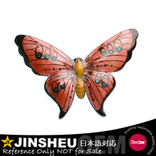 Wholesale Butterfly Vintage Brooch Pink Butterfly Pin