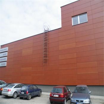 Comfortable Durable Phenolic Resin Exterior Wall Siding Panel