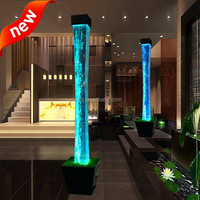 indoor new style led lighting water bubble tubes led event decoration