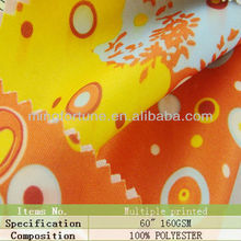 2012 new 100%polyester fabric printed swim wear