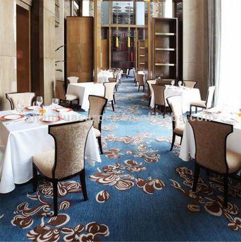 Wall To Wall Broadloom Wool Hotel Carpet For Sheraton