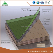 Construction Plastic Film Faced Plywood PVC Formwork Plywood