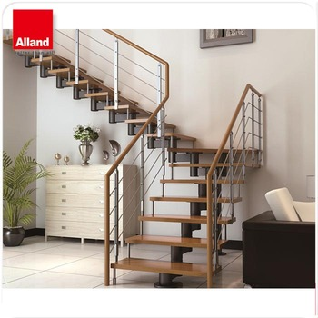 Solid Wood Step Staircase Designs