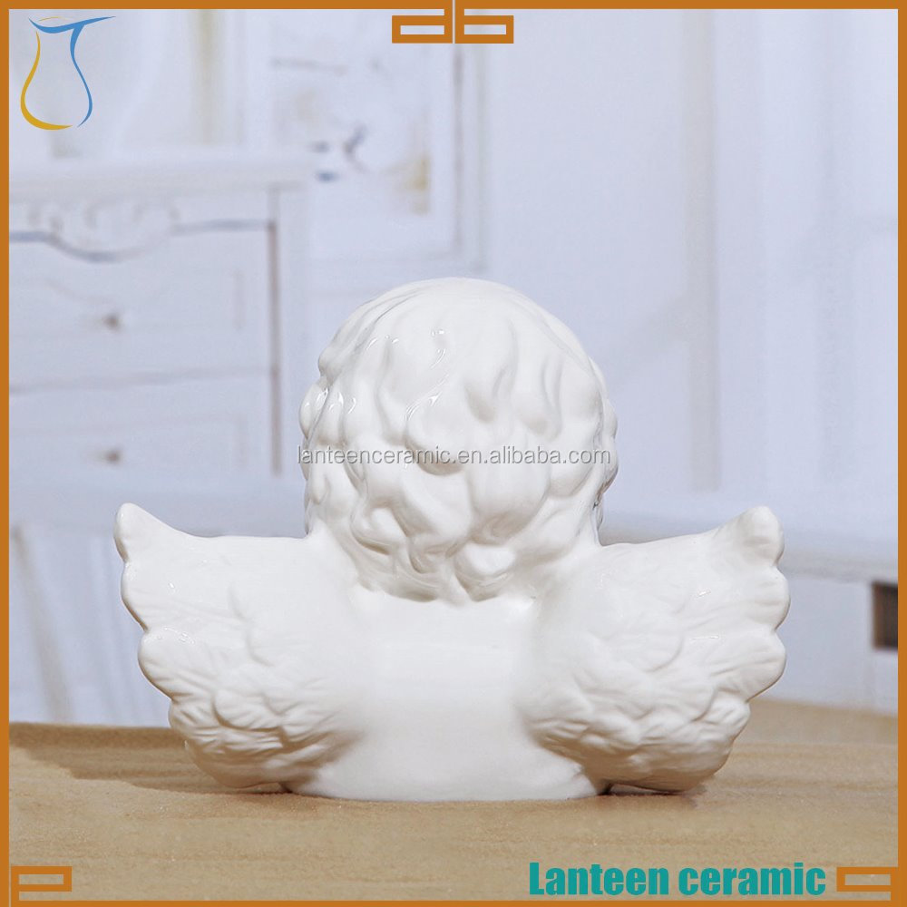 ceramic bisque angel ready to paint set of 3