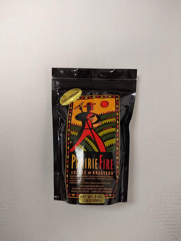 PrairieFire Coffee 100% Colombian - 100% Arabica Coffee - 8 oz Ground
