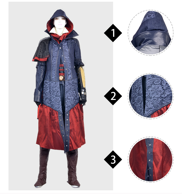 Women S Costume Assassin S Creed Costume Syndicate Evie Frye