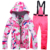 High Quality Custom Women Ski Suit Two Piece Ski Suit For Women