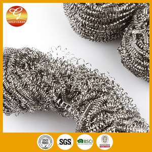 Factory supply eco-friendly pot scourer /scrubber/clean ball directly