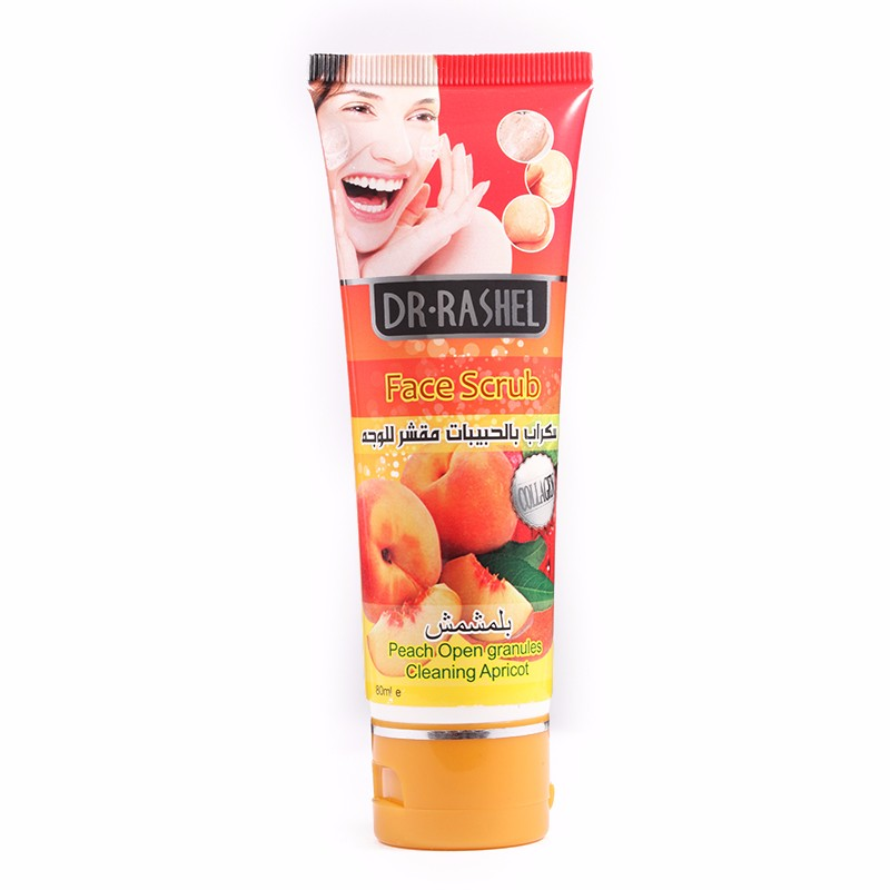 DR.RASHEL Cleaning Apricot Peeling Dead Skin Cells Exfoliating cream Face Scrub