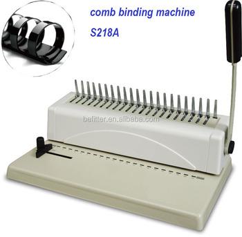 Manual Comb Binding Machine Price - Mariagegironde