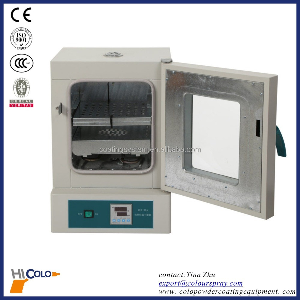 portable electric oven for curing powder