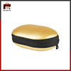 Customized case gold color headset case headphone bag