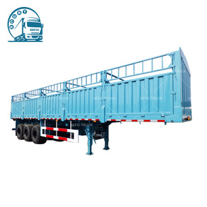 Excellent quality curtain side semi trailer lorry truck price