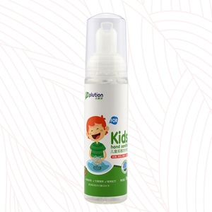 Portable and waterless kid hand sanitizer kill germs