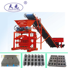 Small scale industry used QTJ4-35B2 free cement price block making machine