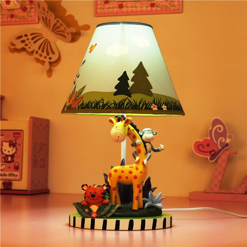 WENBO HOME- Children Bed Lamp Bedroom Bedside Lamp Creative Cartoon Warm And Lovely Student Gifts -Desktop lamp