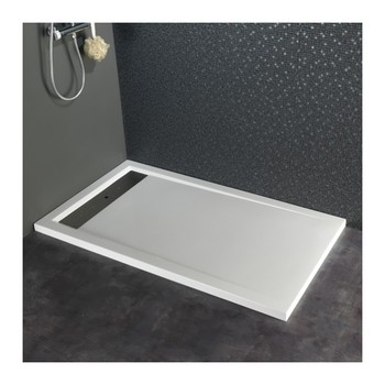 Stainless Steel Shower Base, 140x80 Shower Tray, Quartz Stone