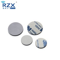 factory price proximity 125khz rfid em4100 label coin tag sticker