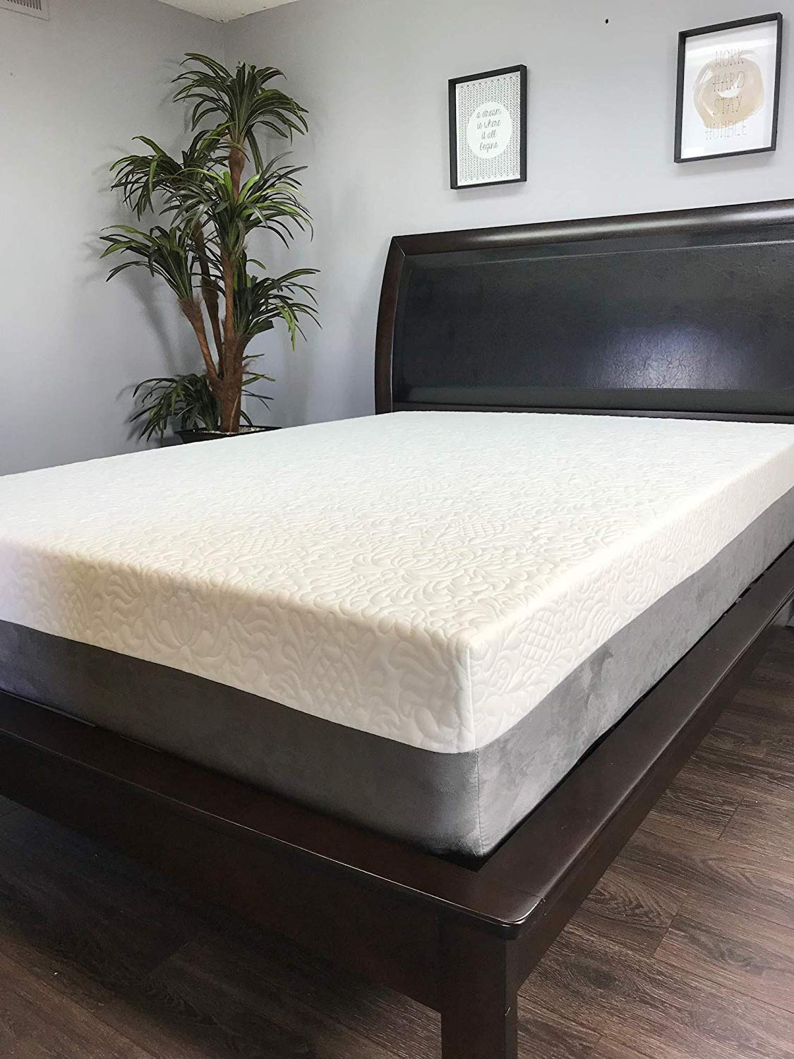 American Mattress Company - 12in Gel Infused Memory Foam Mattress - 100% Made in USA - 20 Year Warranty - CertiPur Foam (Full) - Chiropractic Endorsed