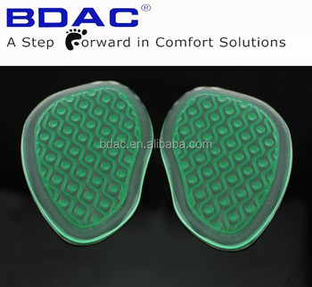 self-adhesive pu gel Forefoot Cushioning Anti-Skid Cushion foot pad