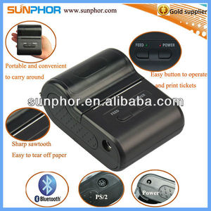 58mm mini printer for mobile top-up/order system/delivery field service