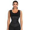 Oem Sauna Suit Tank Top Vest Adjustable Waist Trimmer Belt Corset Waist Trainer