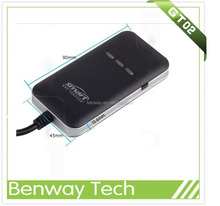 GPS instrument vehicle tracker GT02 with ACC SMS alert cut off + real time monitoring tracking