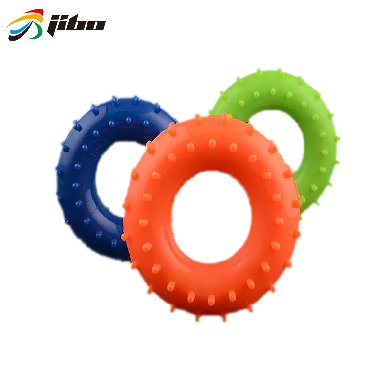 Muscle Power Training Silicone Grip Ring Exerciser 30Ib-50Ib Strength Finger Hands Grip Fitness Musculation Equipement