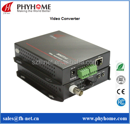 1 channel video + 1 channel RS485 converter,digital video to analog video converter, video multiplexer