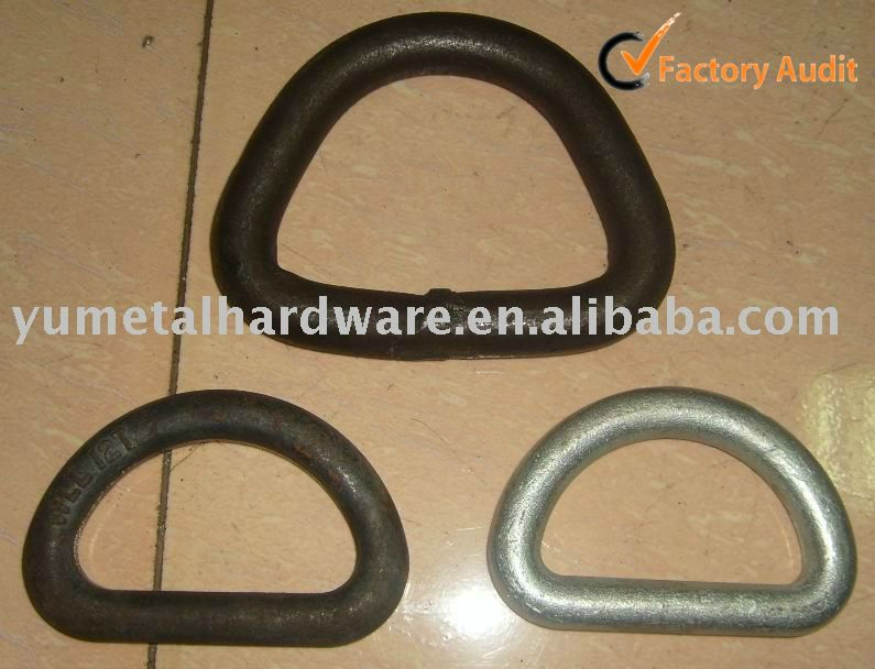 Alloy Steel Forged D Ring