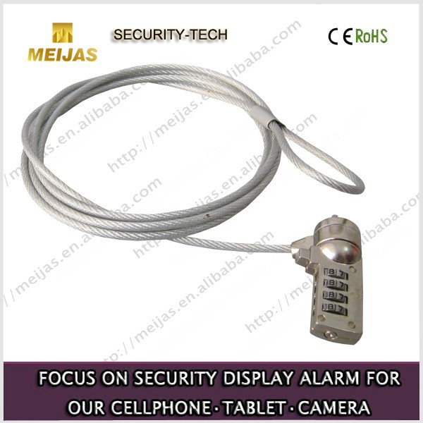 Anti-theft mechanical Security display password lock for laptop