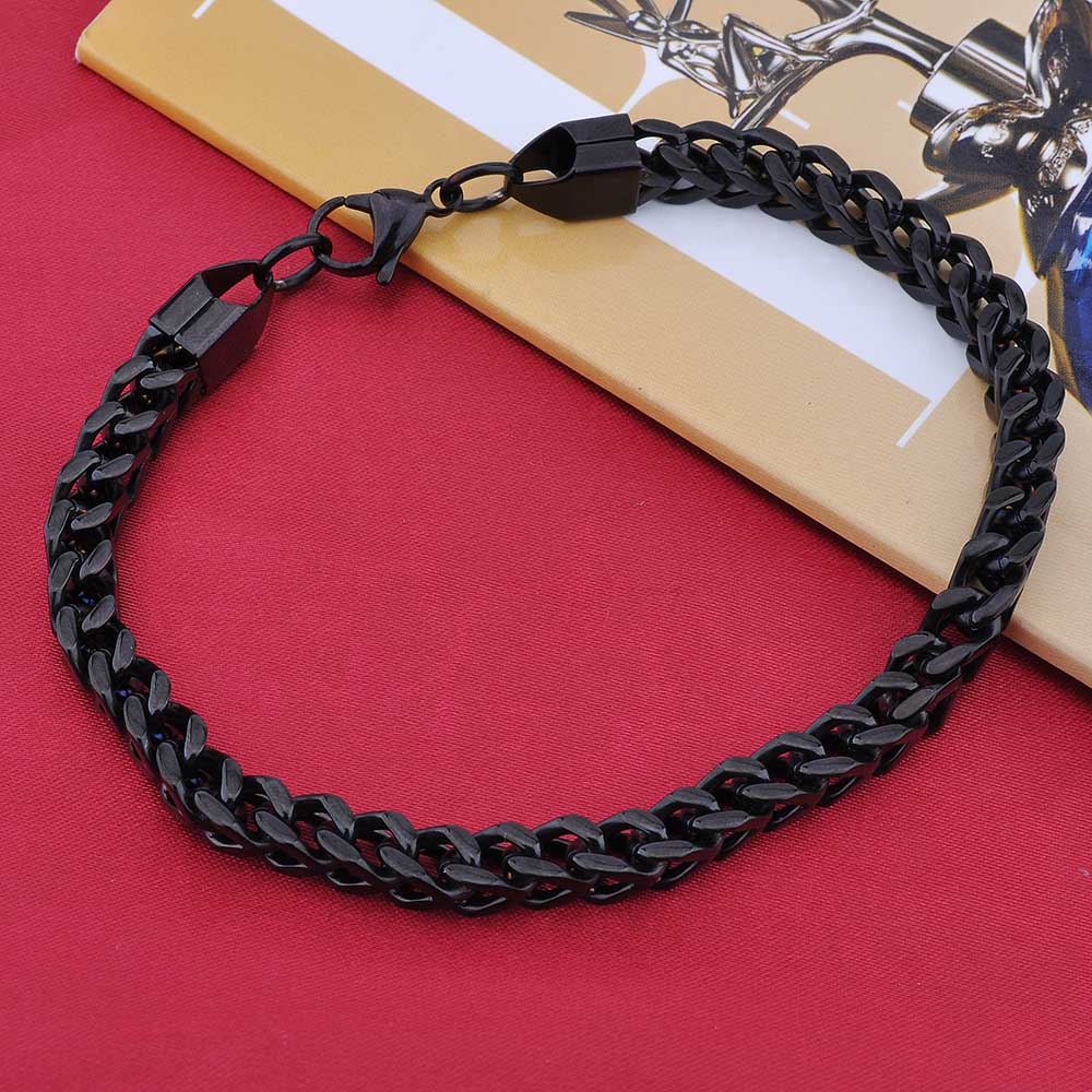 Wholesale Link Chain Charms Mens Sterling Silver Bracelet