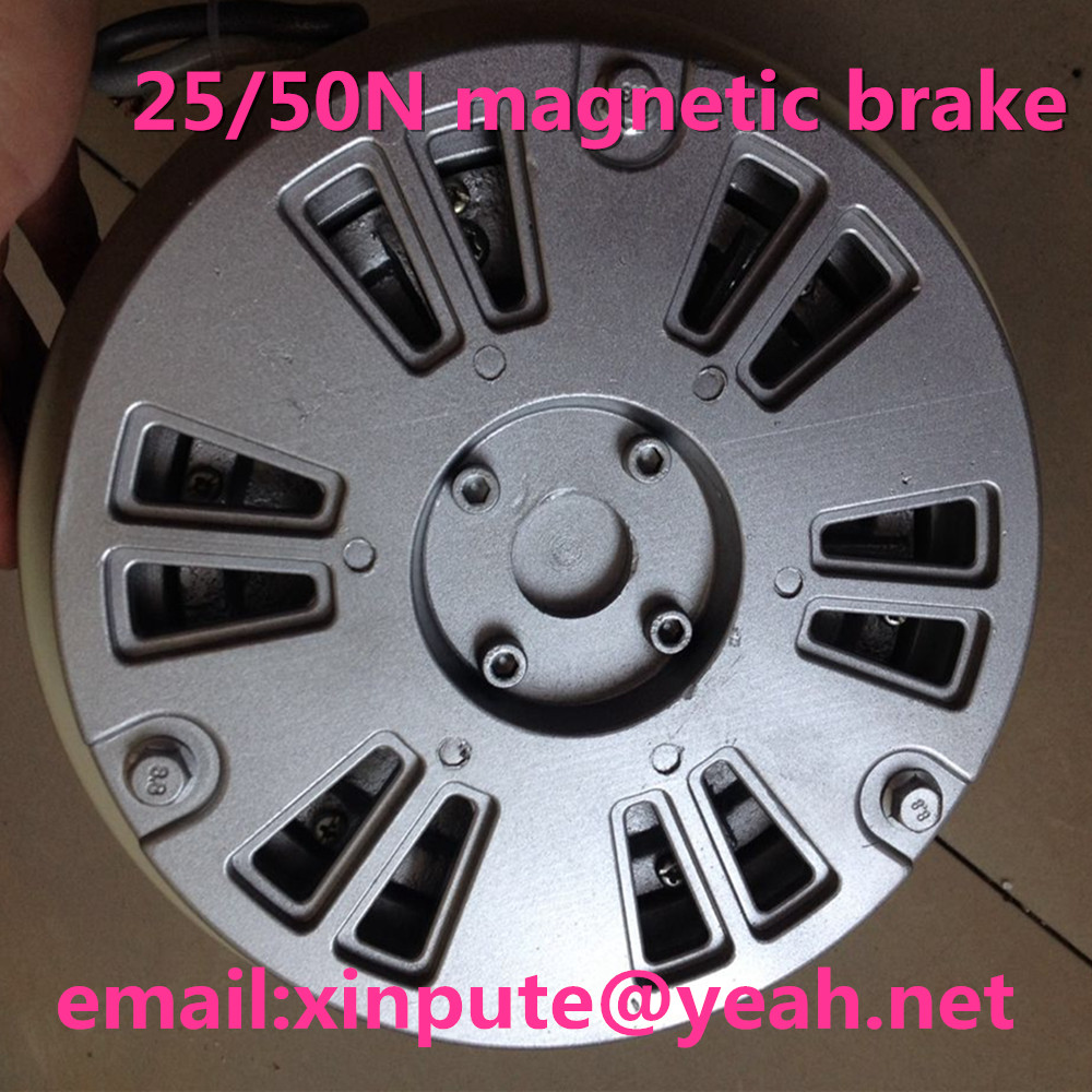 25N/50N/100N Single axis magnetic powder brake