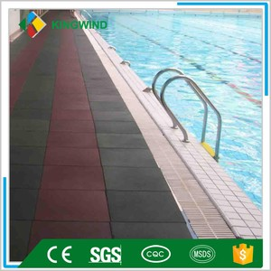 hexagon safety rubber tile,playground rubber tile ,Pigmented Rubber Tiles