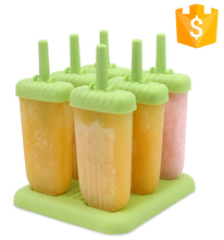 Amazon Hot Repeated Use Plastic Popsicle Ice Cream Stick Mould And Maker